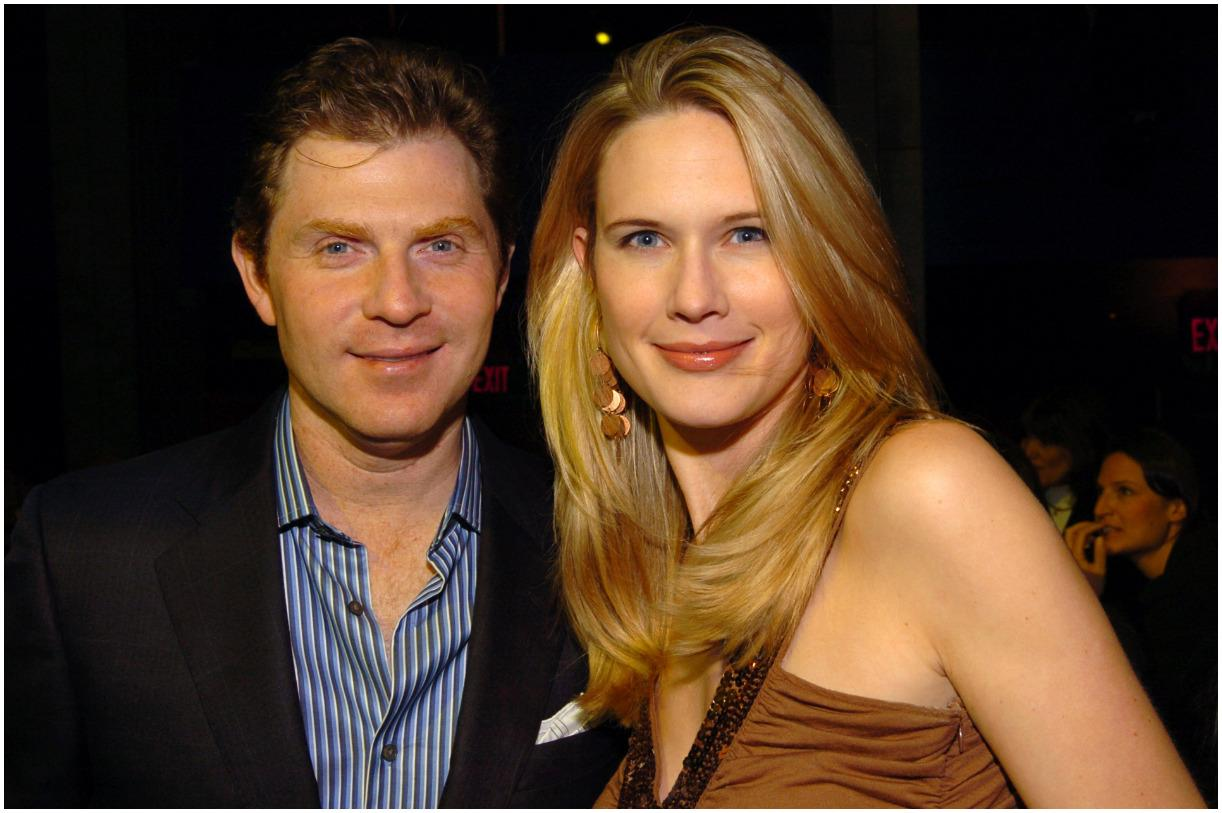 Bobby Flay and his wife Stephanie March