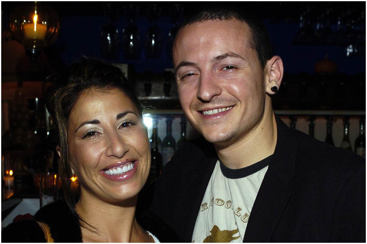 Chester Bennington and his wife Samantha