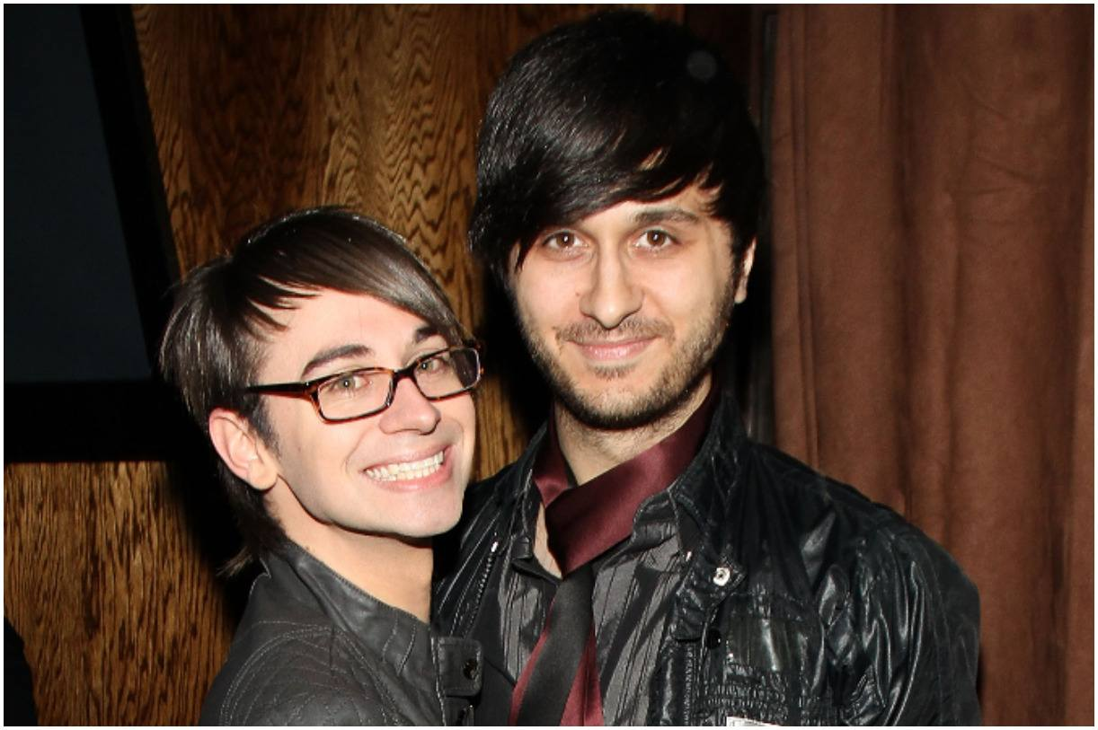 Christian Siriano with his husband Brad Walsh