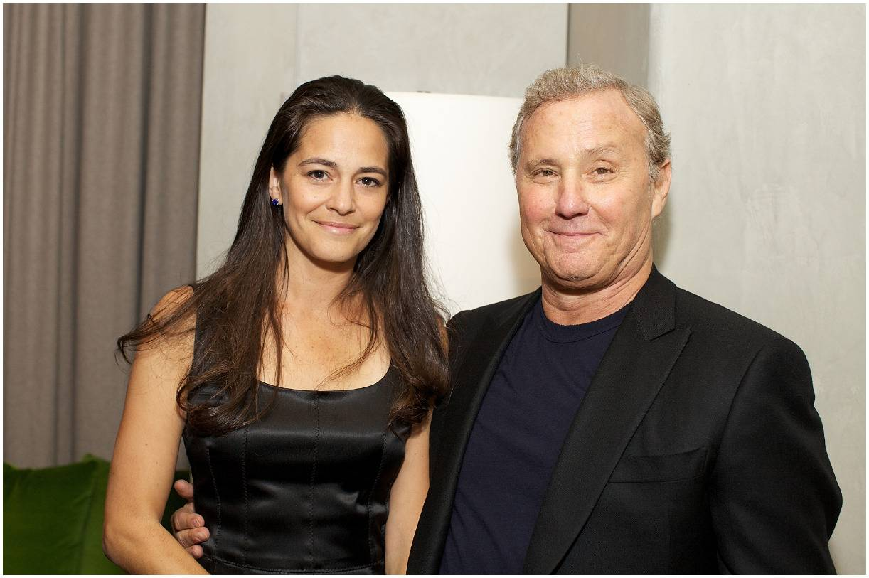 Ian Schrager and his wife Tania Wahlstedt