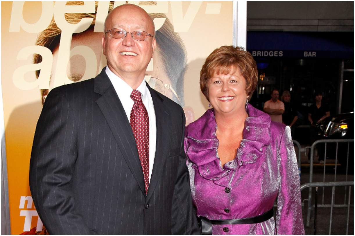 Mark Whitacre with his wife Ginger Gilbert