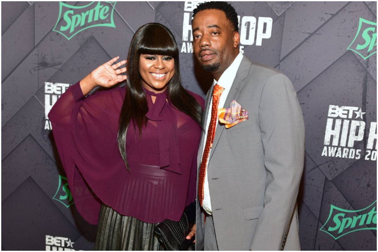 "Neffe (Neffeteria Pugh) with her husband Shelby ""Soullow"" Lowery"