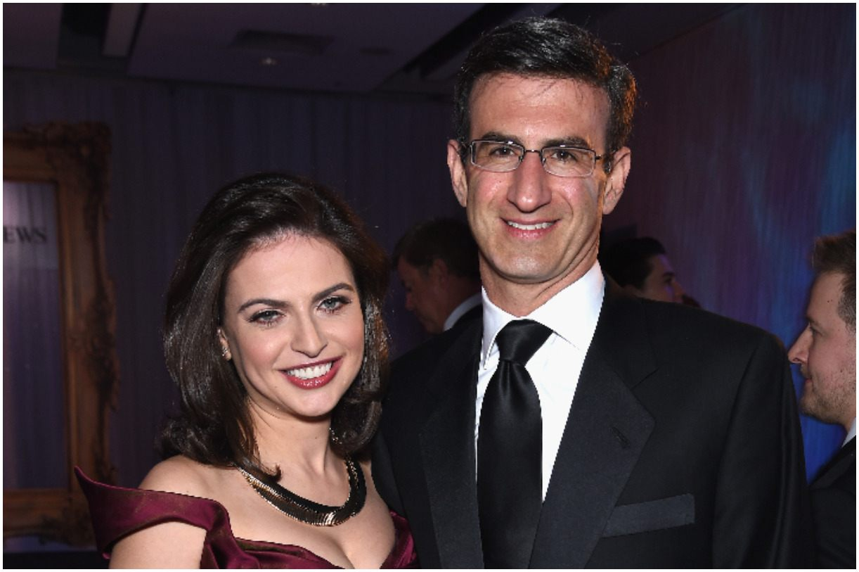 Peter Orszag and his wife Bianna Golodryga