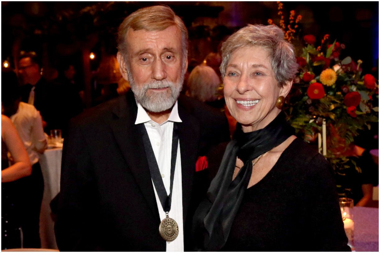 Ray Stevens with his wife Penny Jackson