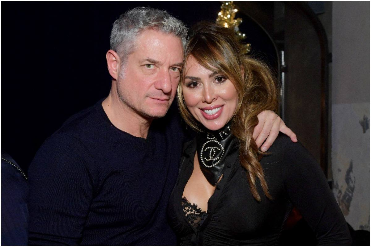 Rick Leventhal with her fiancee Kelly Dodd