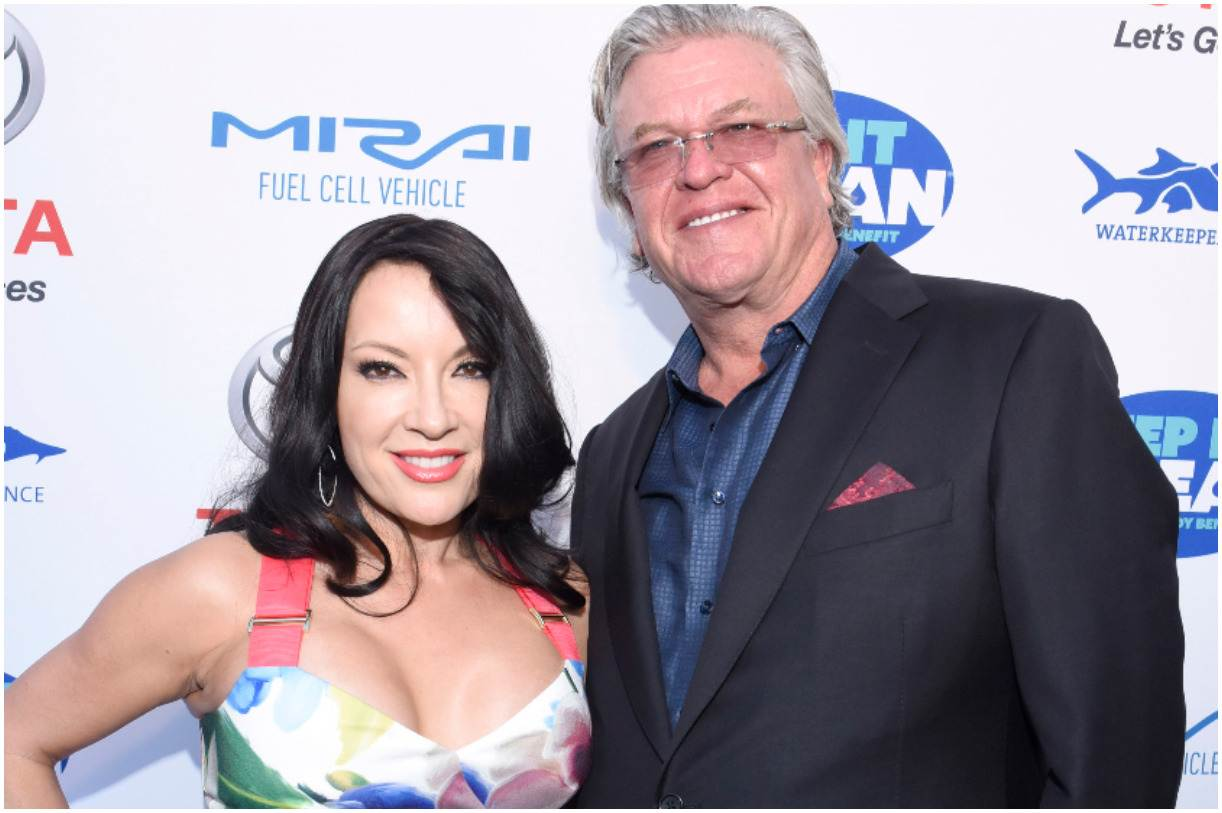Ron White with his wife Margo Rey