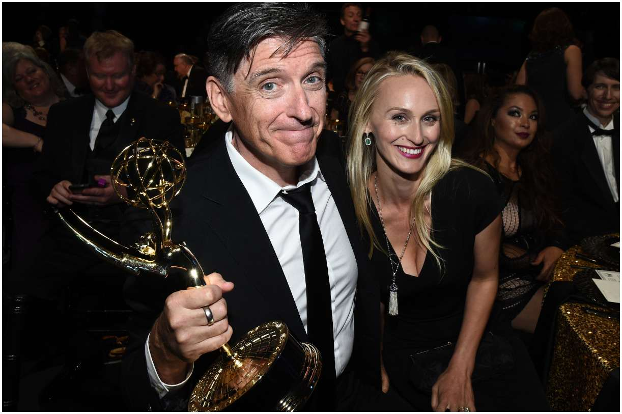 Craig Ferguson with his wife Megan Wallace Cunningham