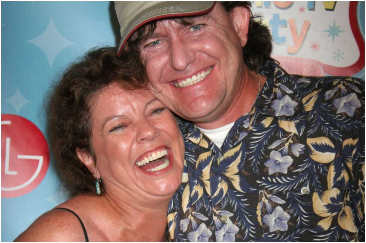 Erin Moran with her husband Steven Fleischmann