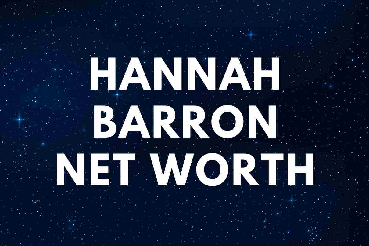 Hannah Barron - Net Worth, Wiki, Married