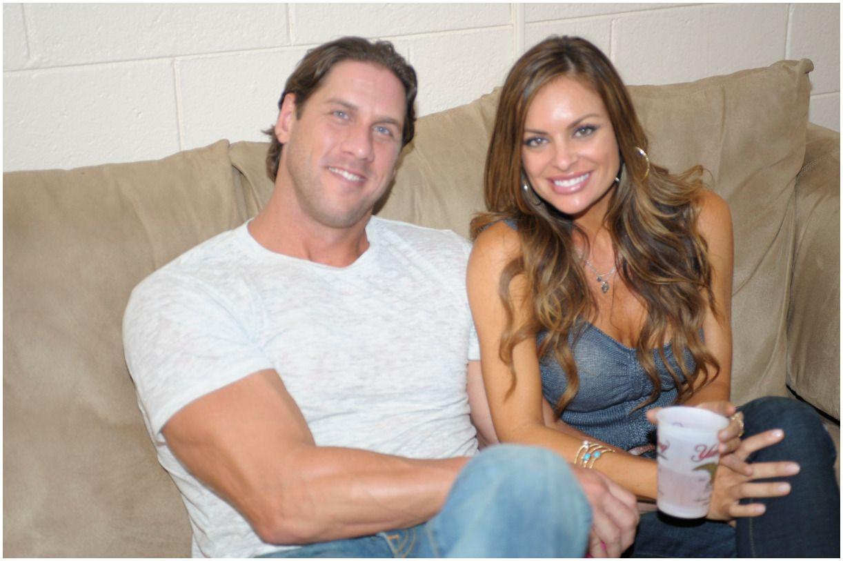 John Rocker with his girlfriend Julie McGee