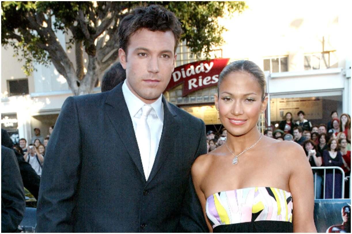 Ben Affleck and his girlfriend Jennifer Lopez