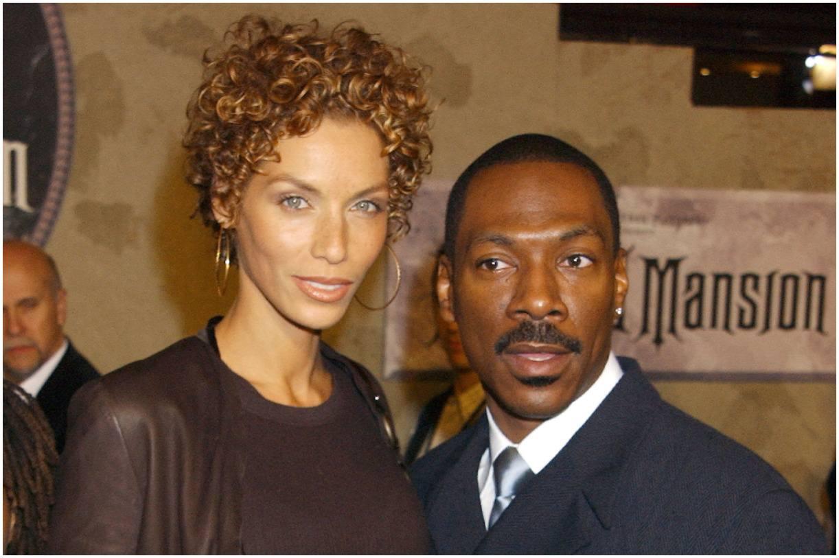 Nicole Murphy and her husband Eddie Murphy
