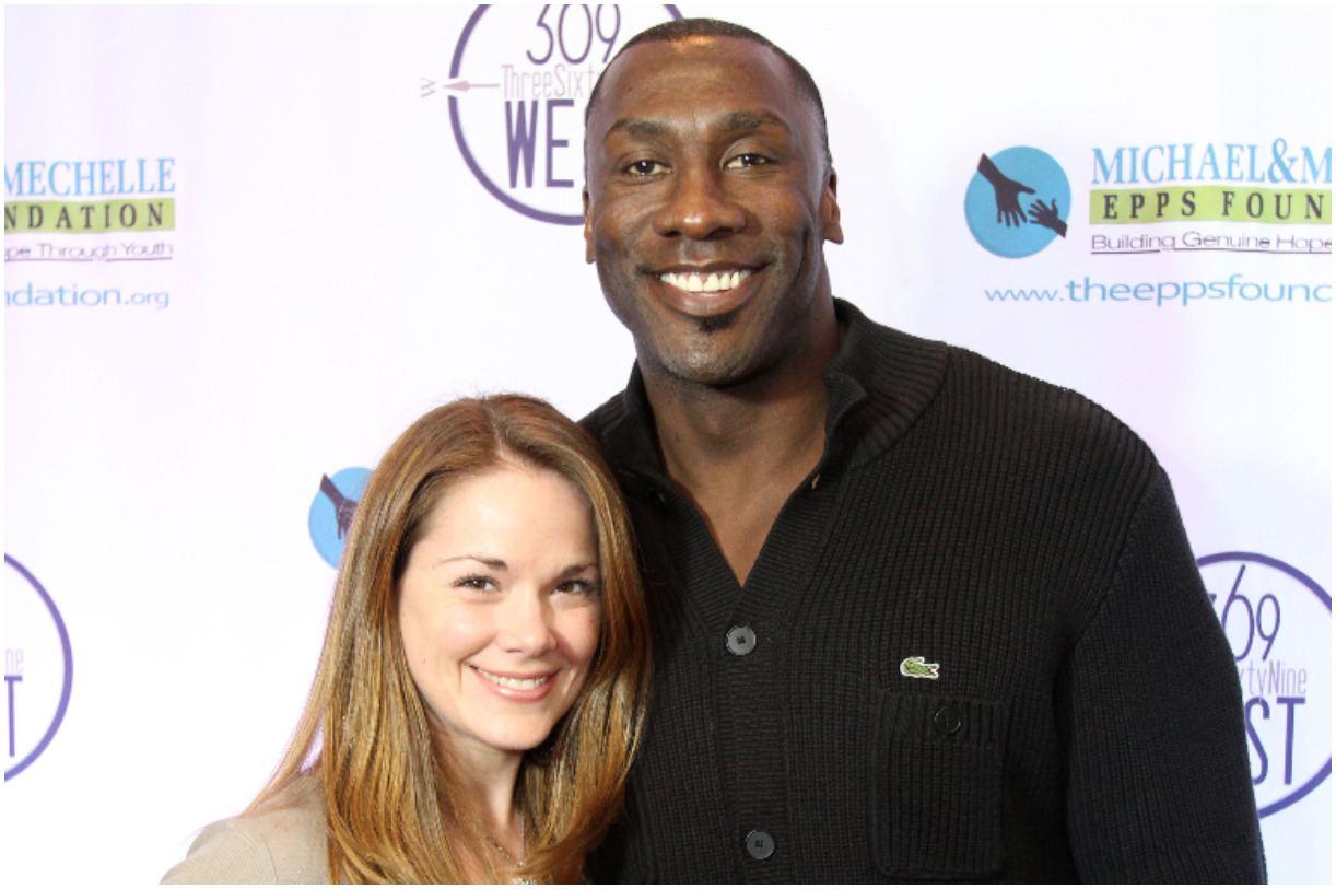 Shannon Sharpe and his girlfriend Katy Kellner