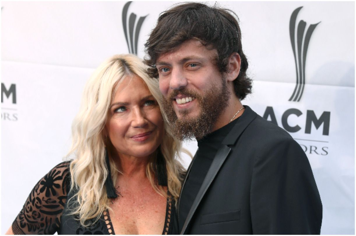 Chris Janson with his wife Kelly Lynn