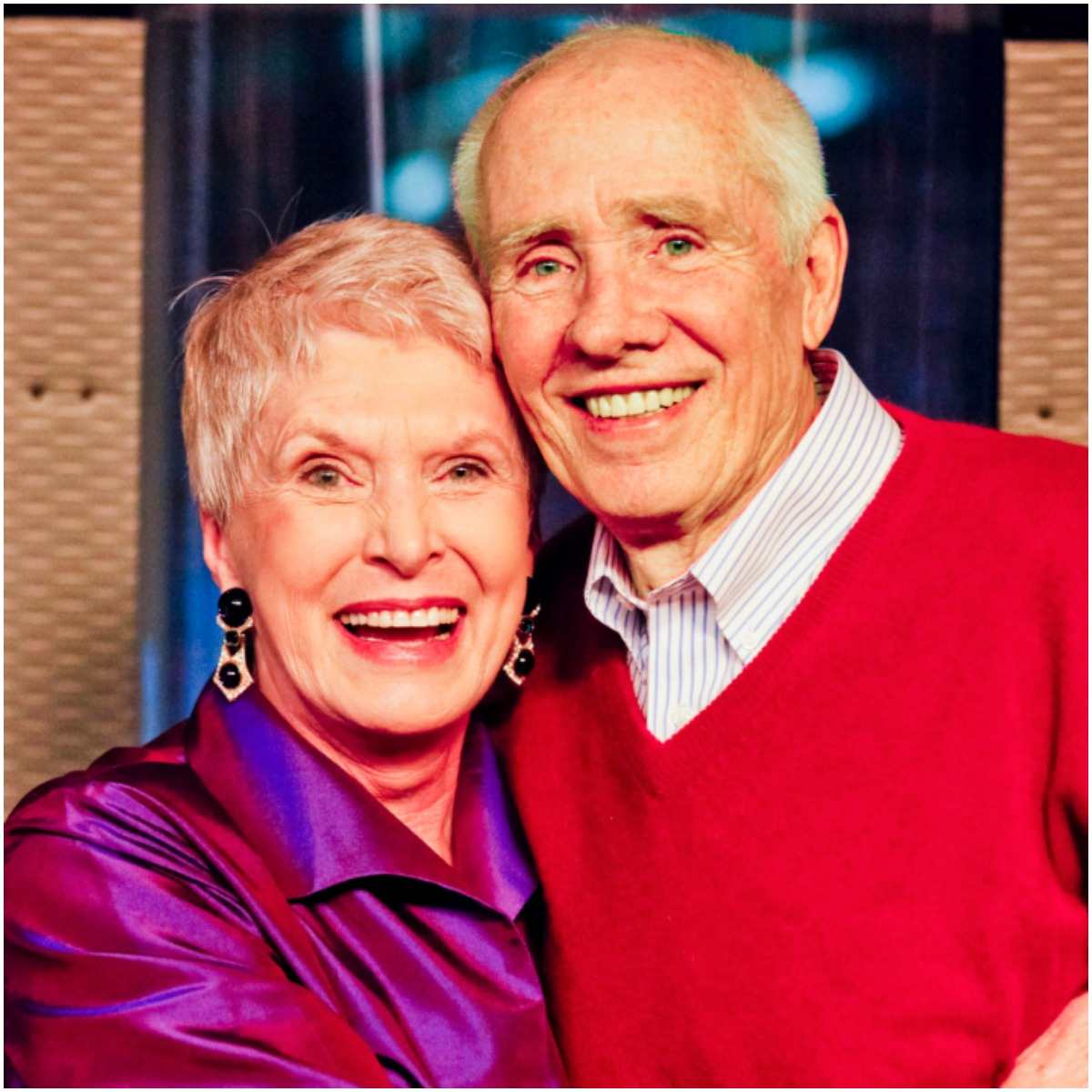 Jeanne Robertson and her husband Jerry Robertson