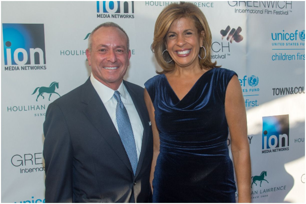 Joel Schiffman and his girlfriend Hoda Kotb