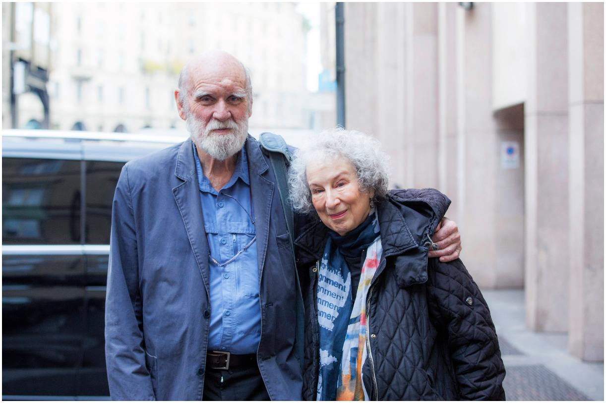 Margaret Atwood and Graeme Gibson