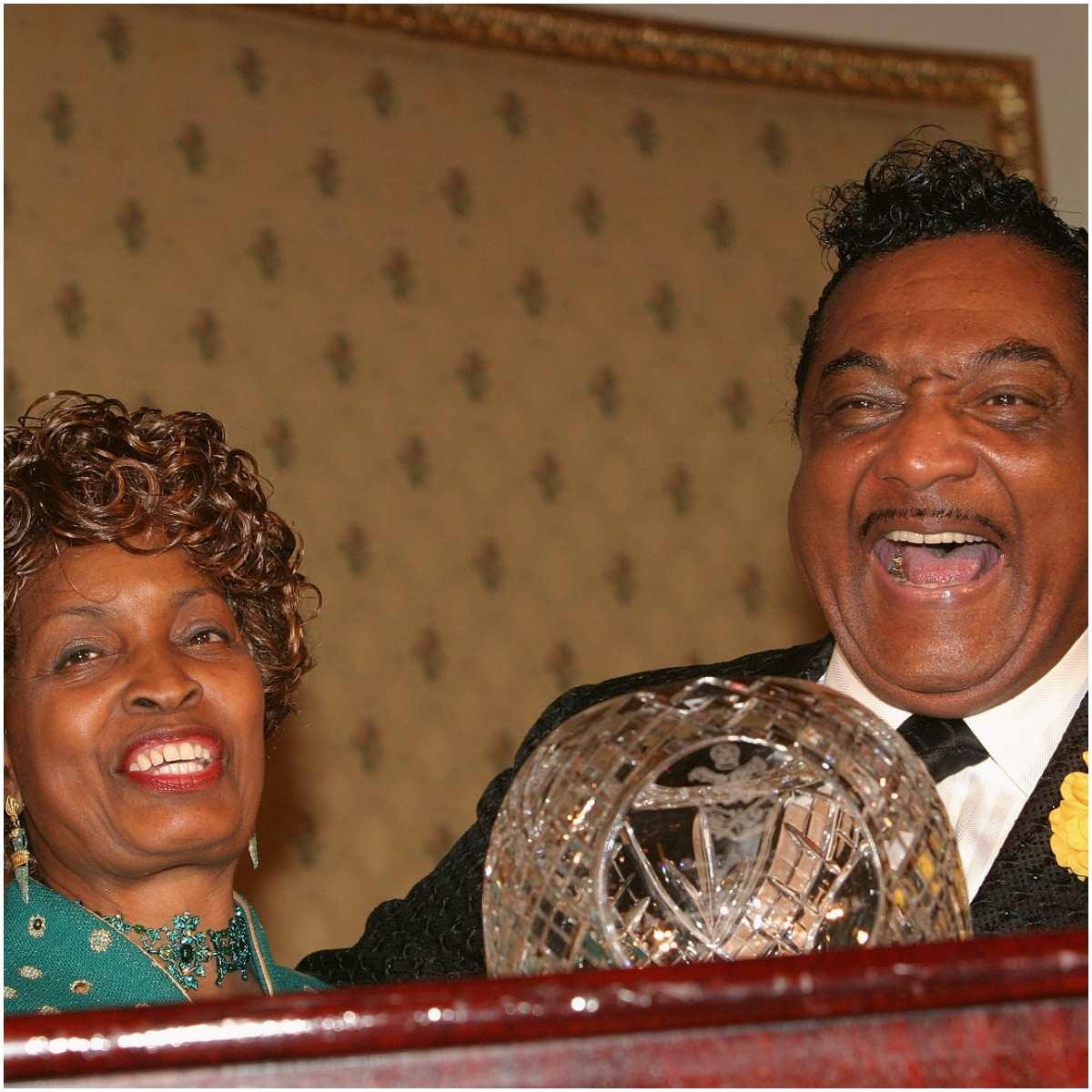 Reverend Ike and his wife Eula M. Dent