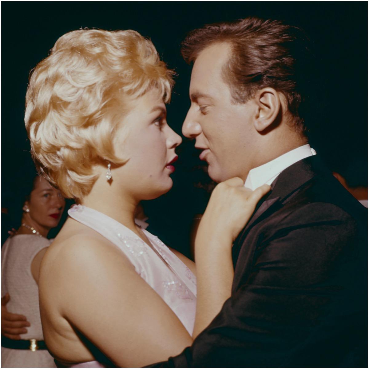 Sandra Dee and her husband Bobby Darin