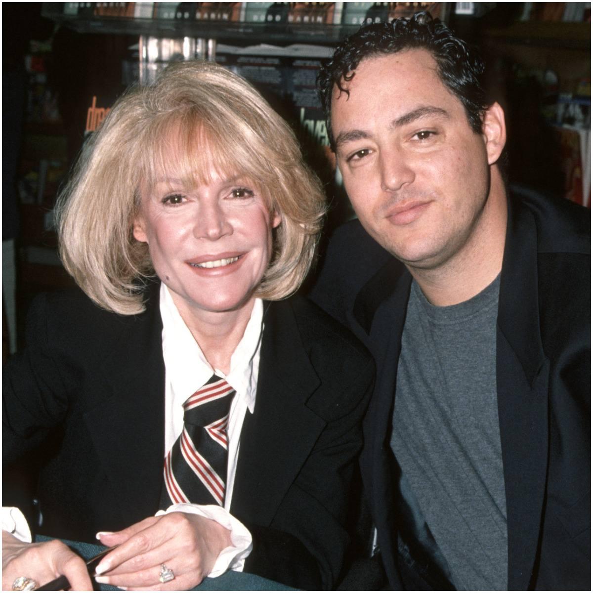 Sandra Dee with her son Dodd Mitchell Darin