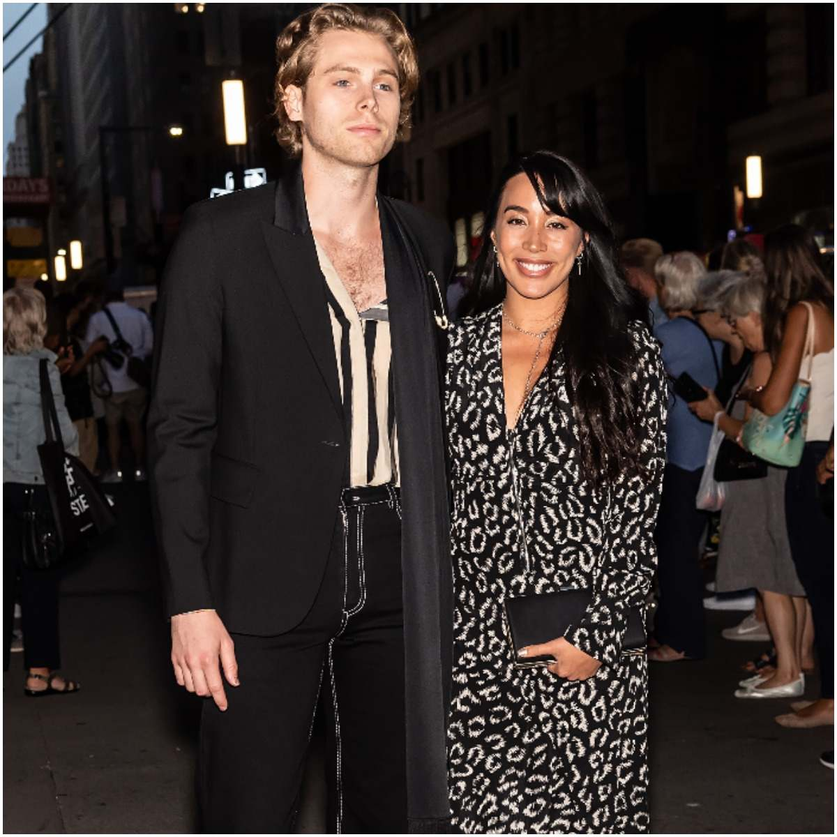 Sierra Deaton with her boyfriend Luke Hemmings