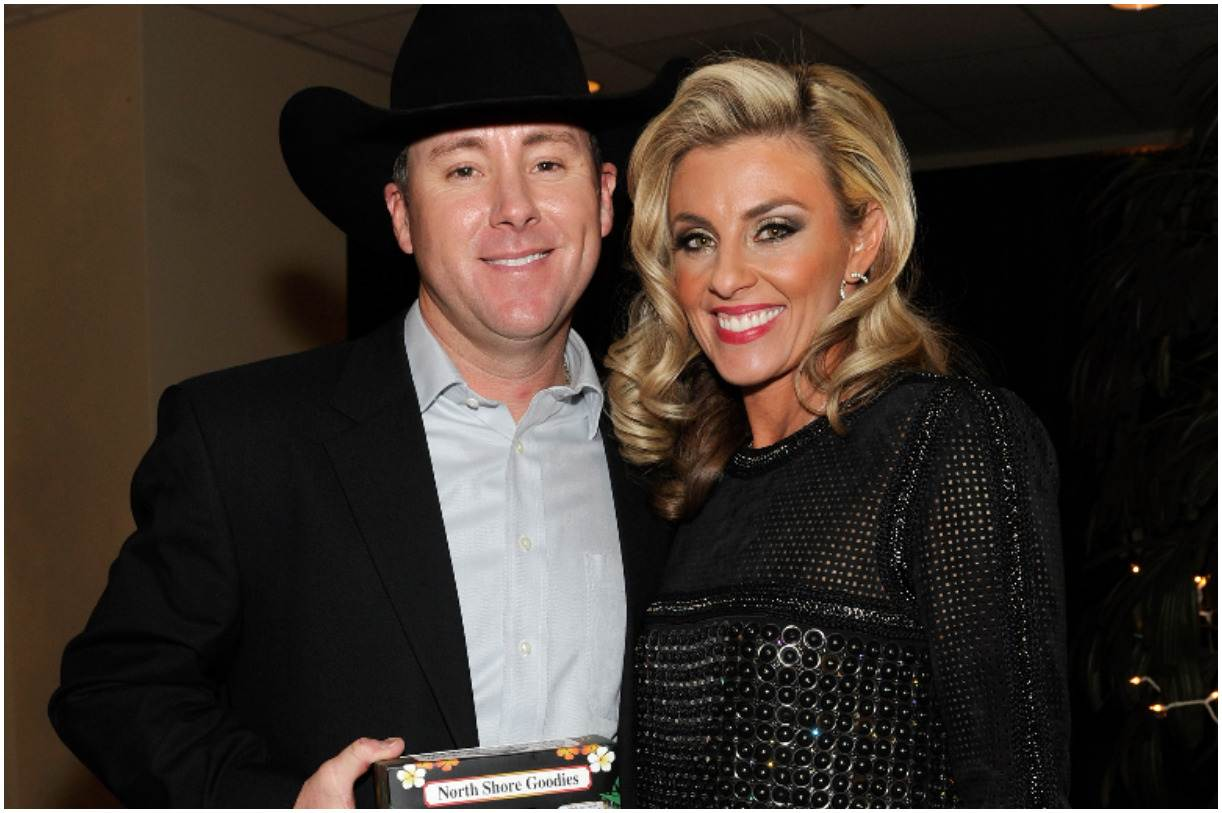Trevor Brazile with his wife Shada Brazile