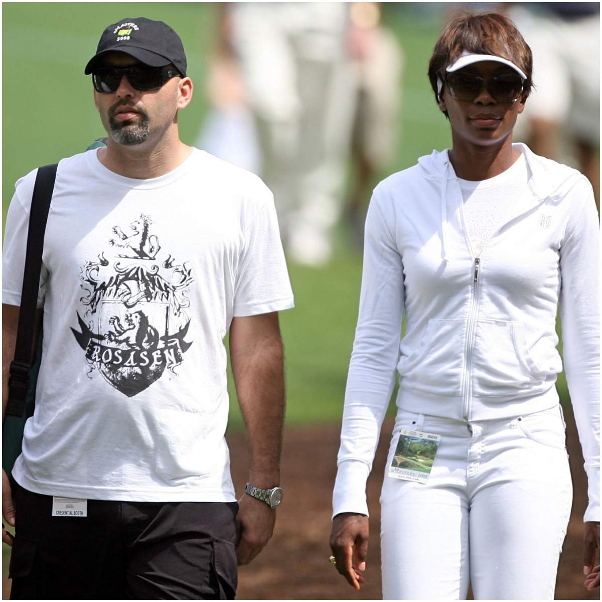 Venus Williams and her boyfriend Hank Kuehne