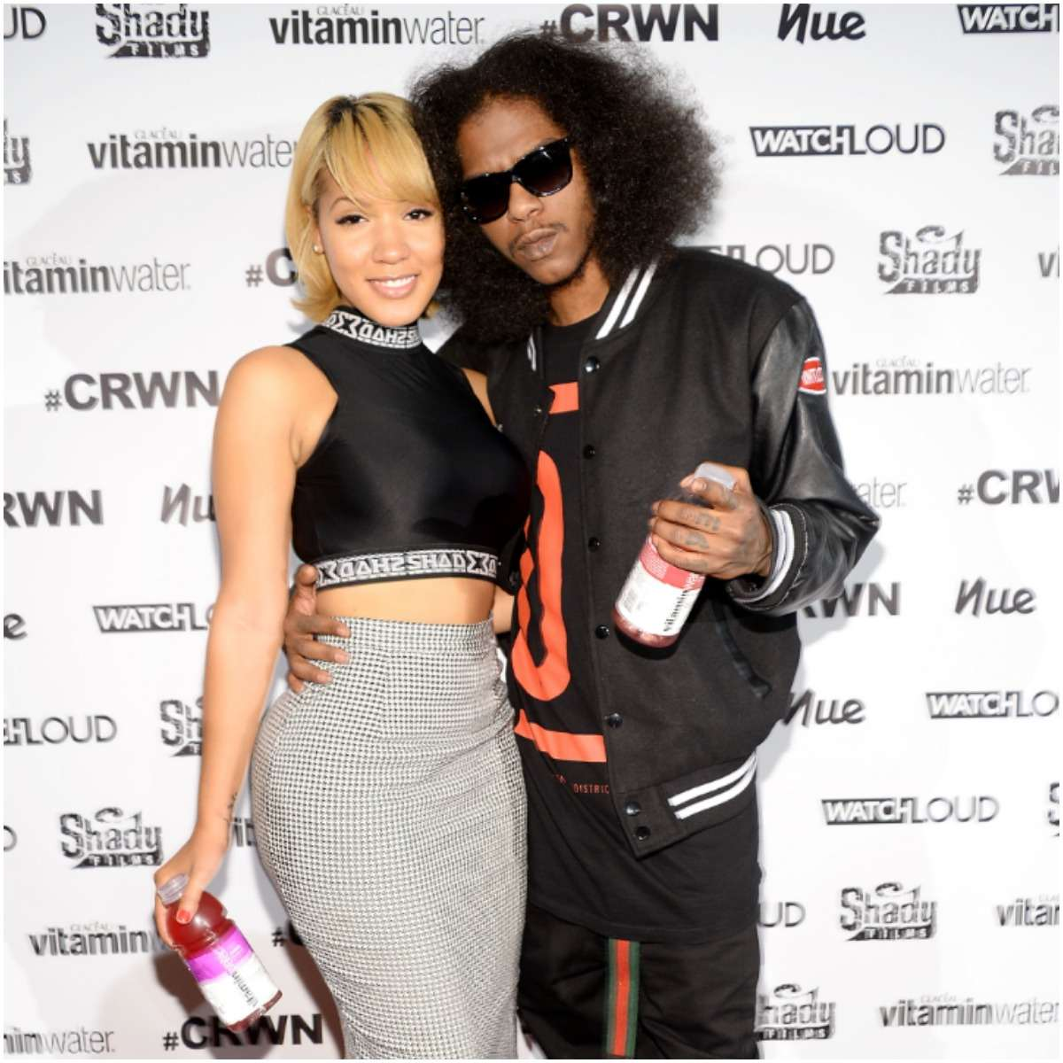 Ab-Soul and his girlfriend Yaris Sanchez