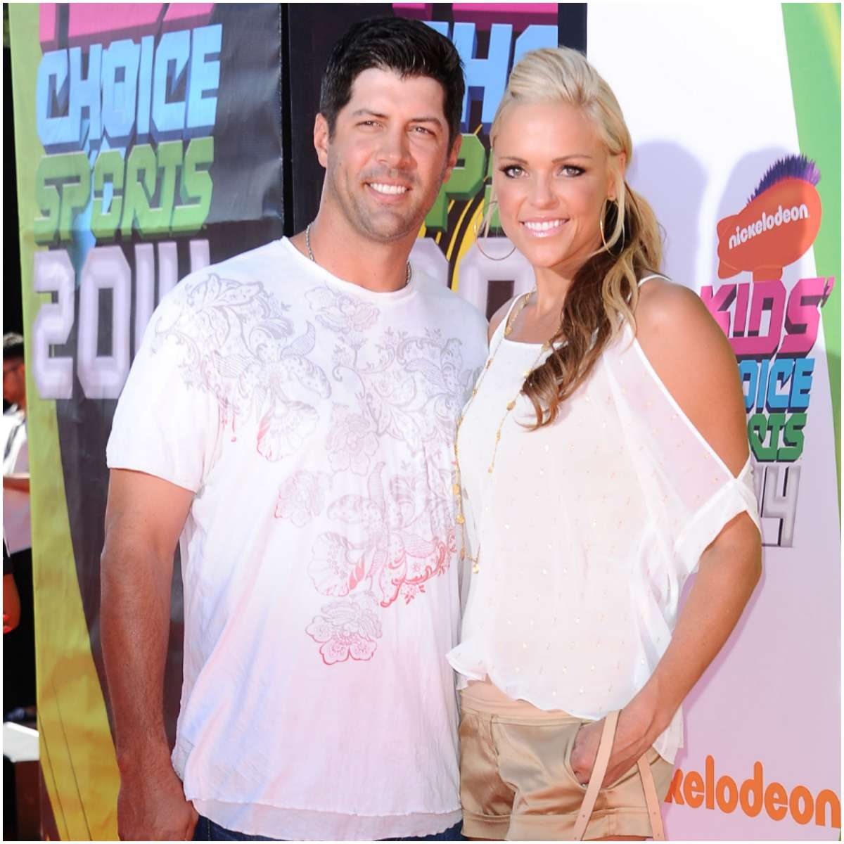 Jennie Finch and her husband Casey Daigle
