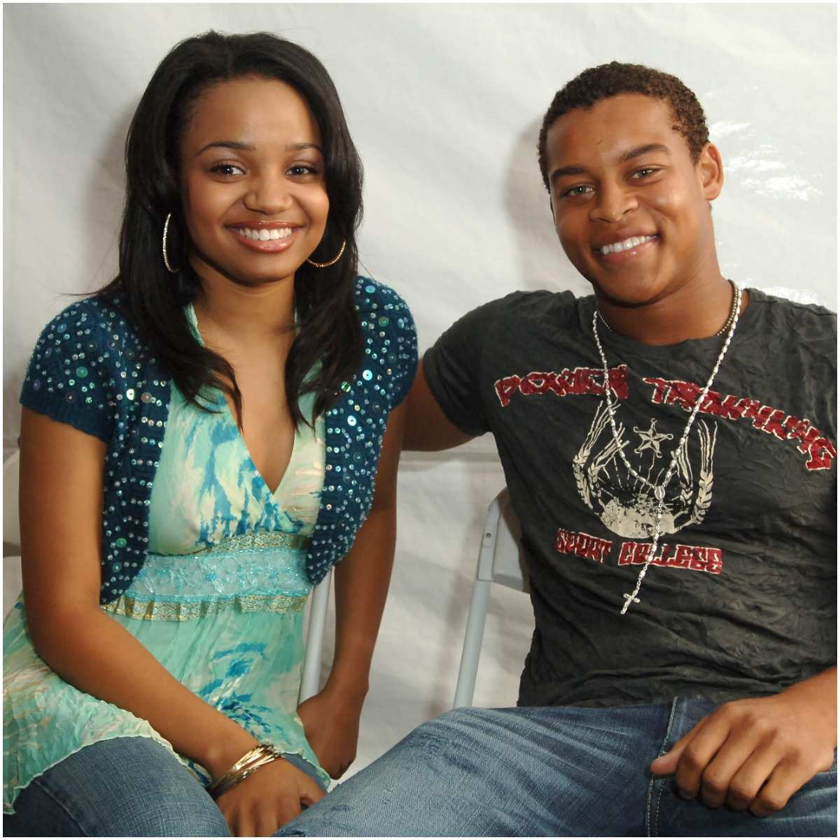 Robert Ri'chard and his girlfriend Kyla Pratt