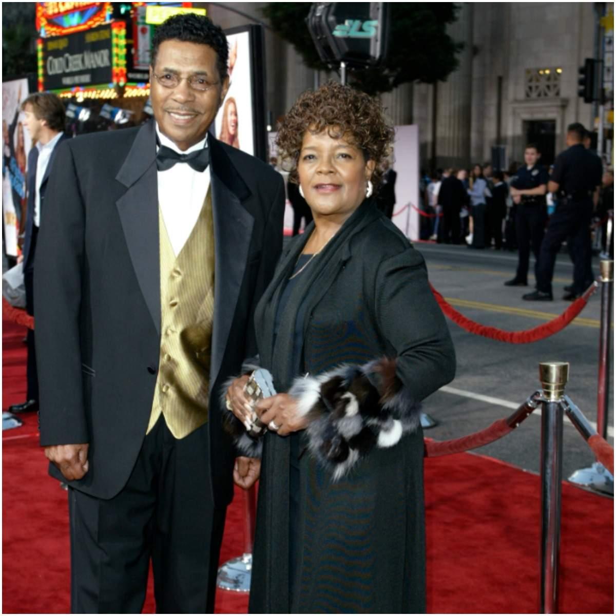 Shirley Caesar and her husband Harold Ivory Williams