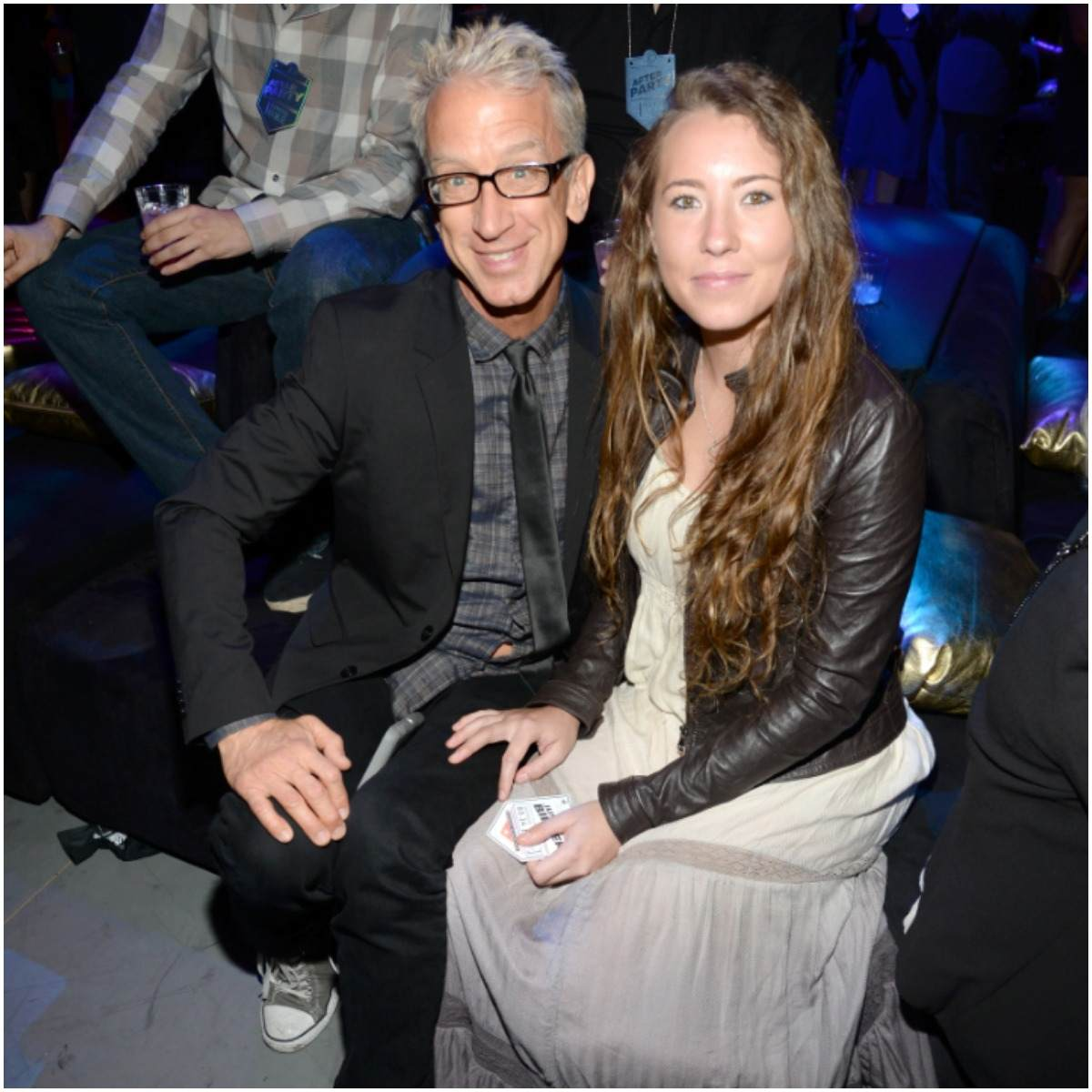 Andy Dick and his wife Lena Sved
