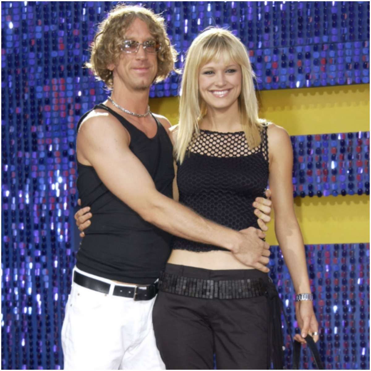 Andy Dick with his first wife Ivone Kowalczyk