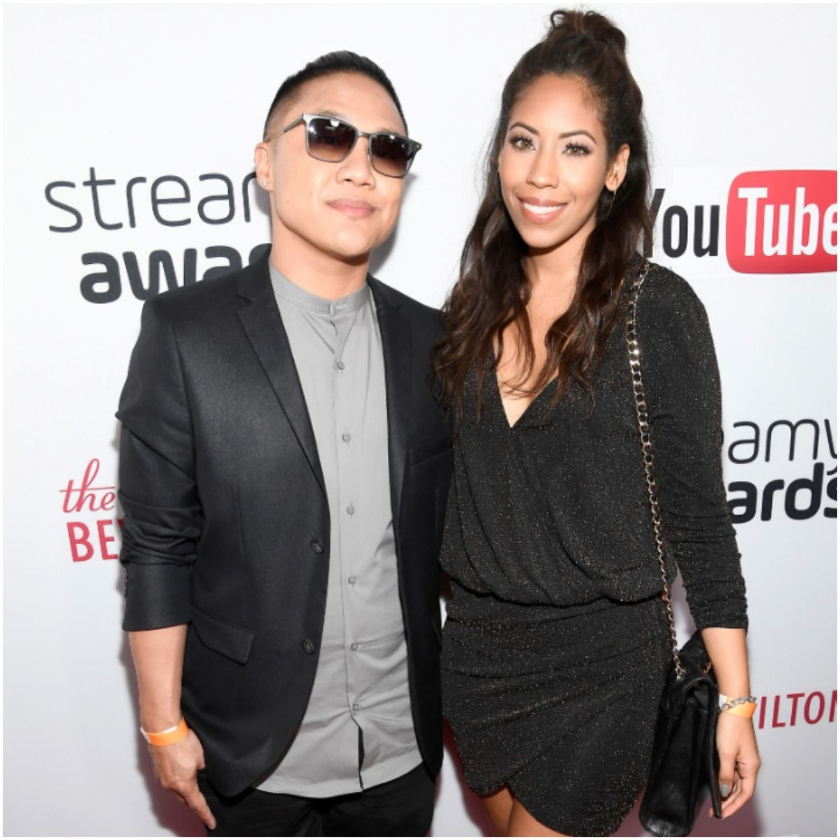 Timothy DeLaGhetto with wife Chia Habte