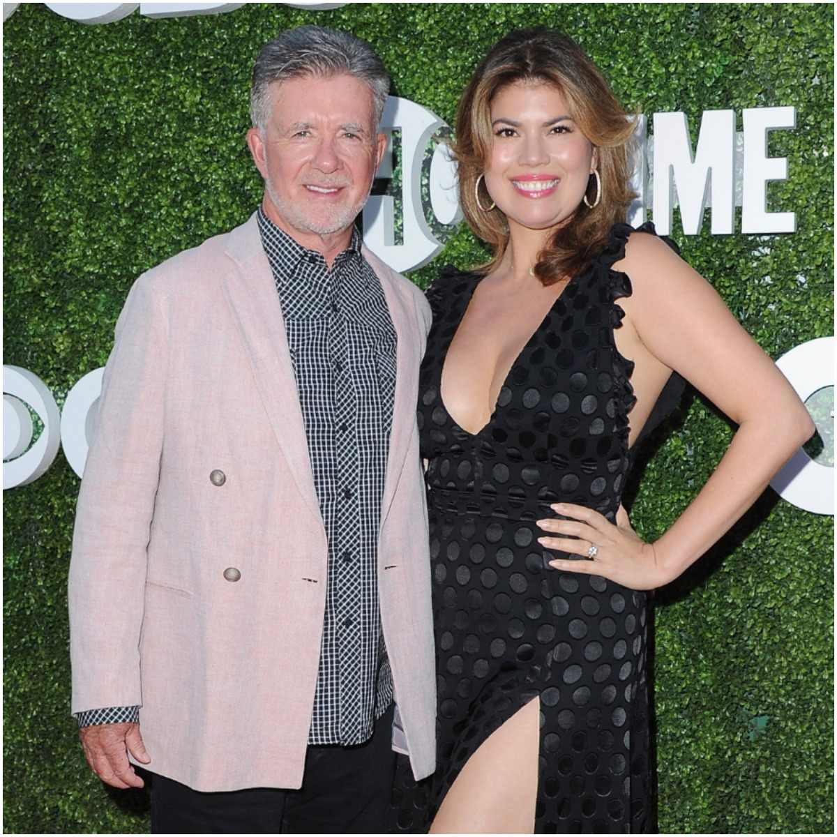 Alan Thicke and his wife Tanya Thicke