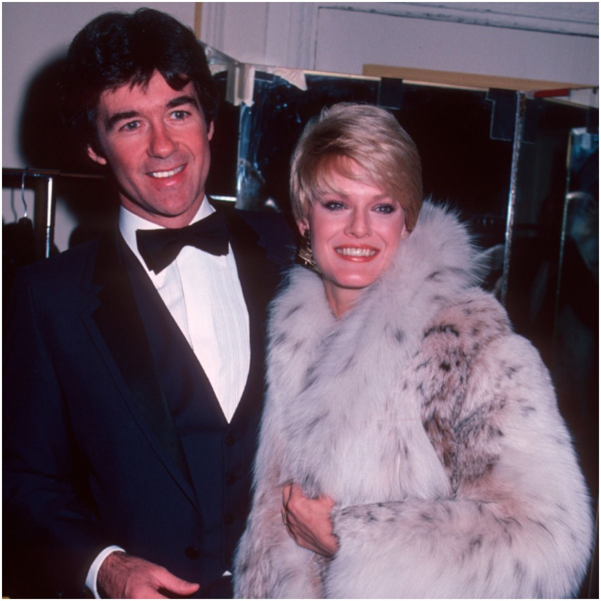 Alan Thicke with first wife Gloria Loring