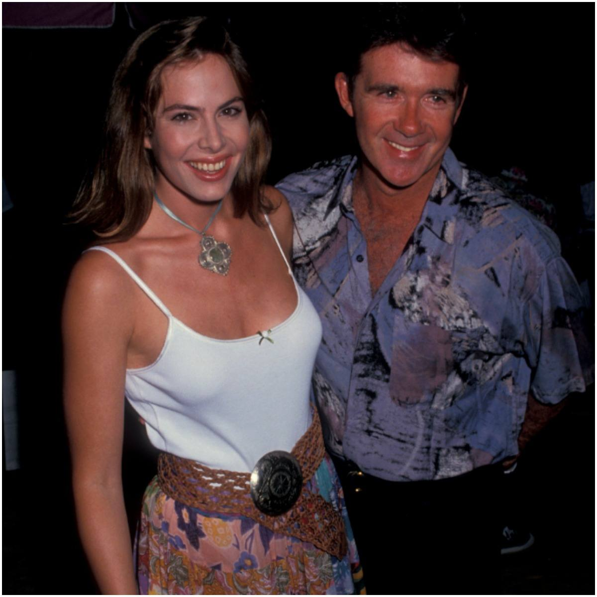 Alan Thicke with wife Gina Tolleson