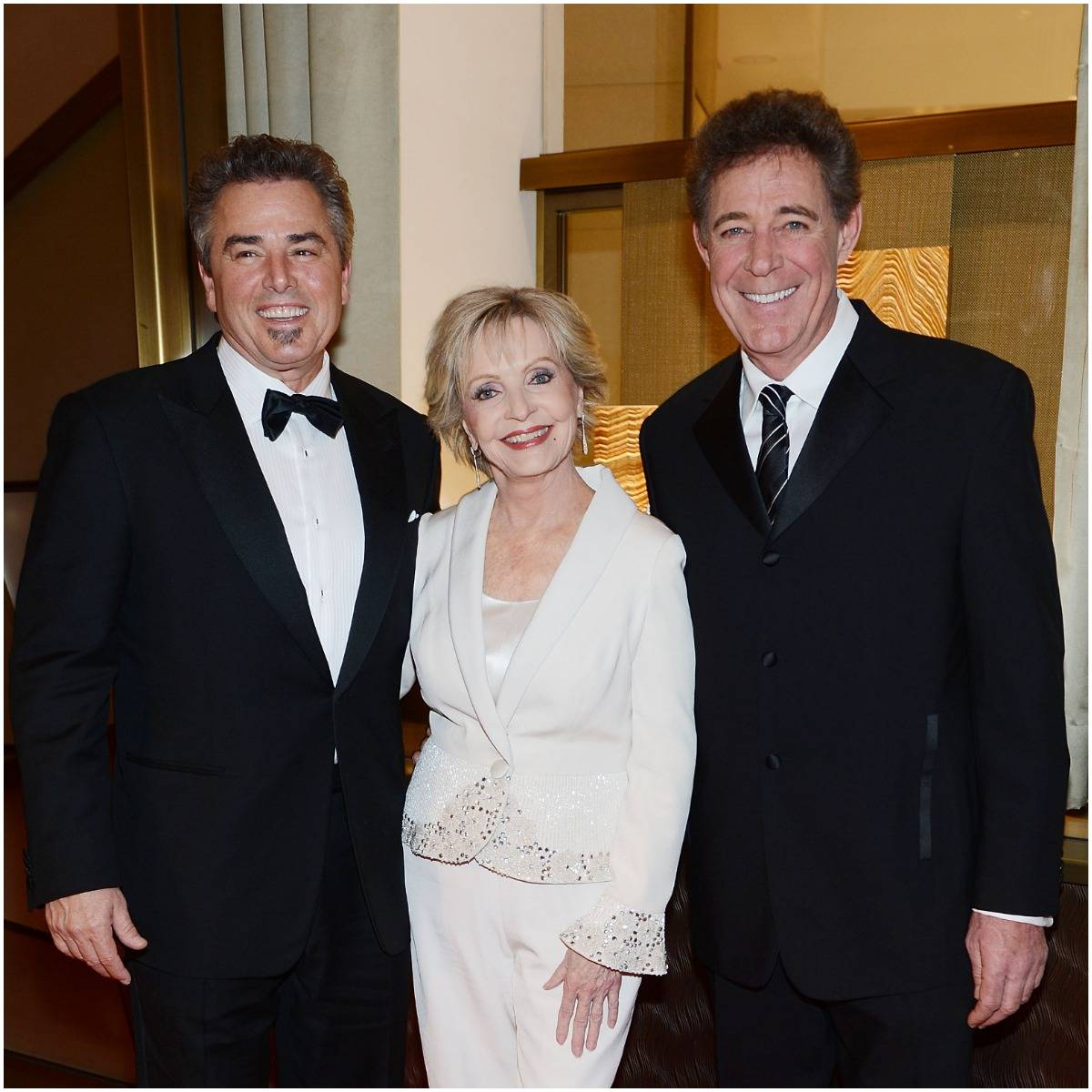 Barry Williams and Florence Henderson