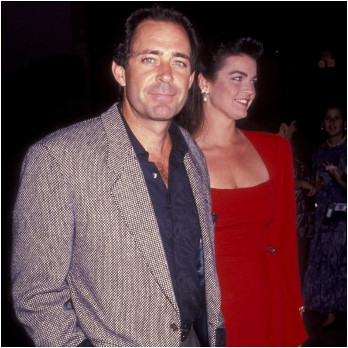 Barry Williams and his wife Diane Martin