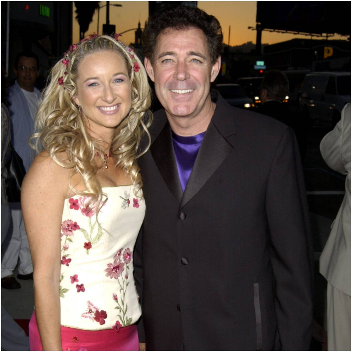Barry Williams with his wife Eila Mary Matt