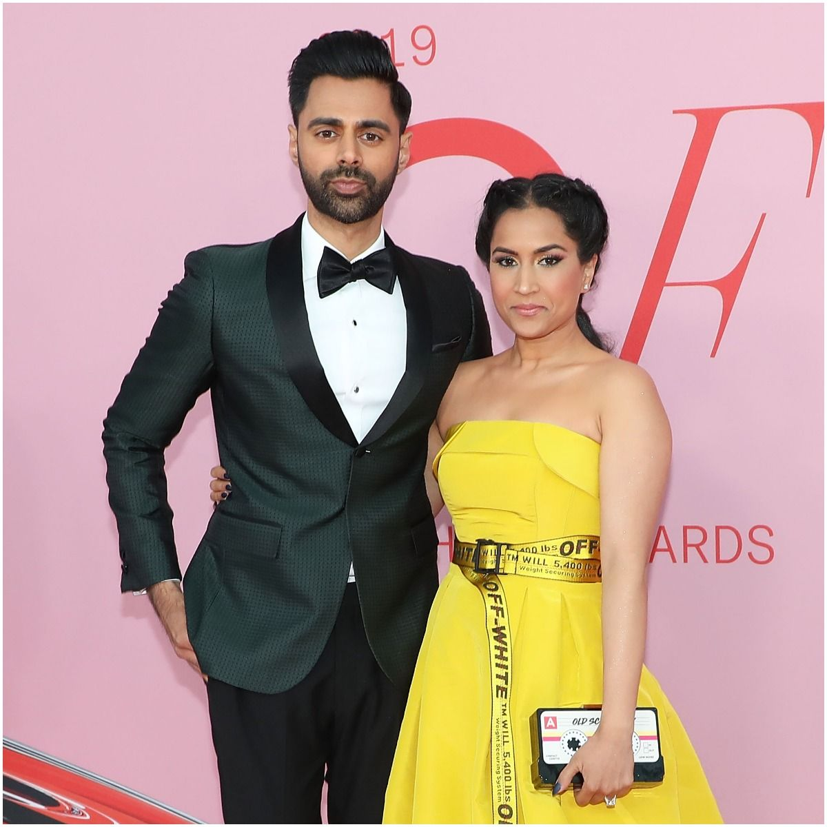 Hasan Minhaj with his wife Beena Patel