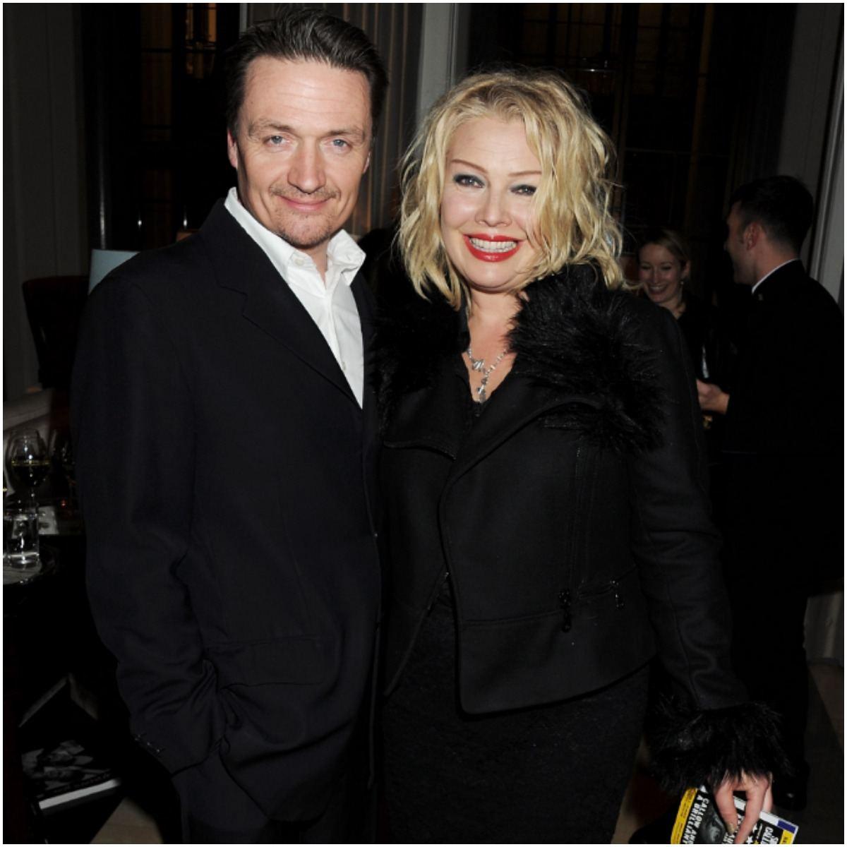 Kim Wilde with her husband Hal Fowler