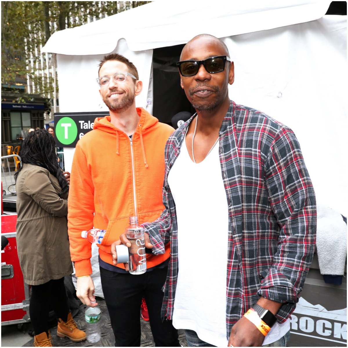Neal Brennan with Dave Chappelle