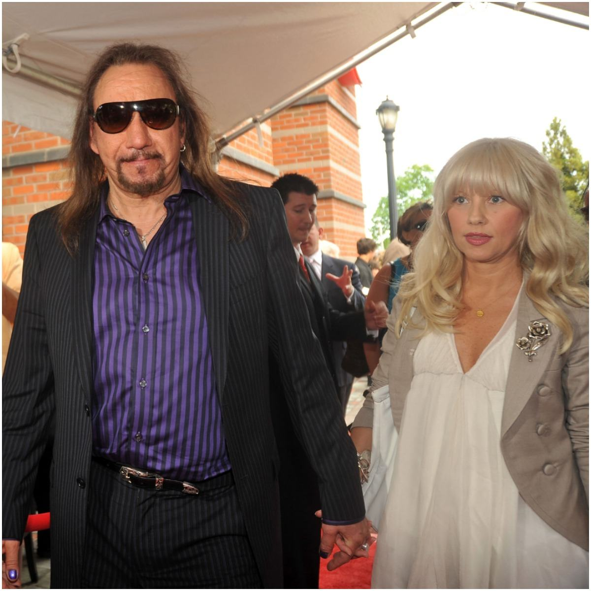 Ace Frehley and girlfriend Rachael Gordon