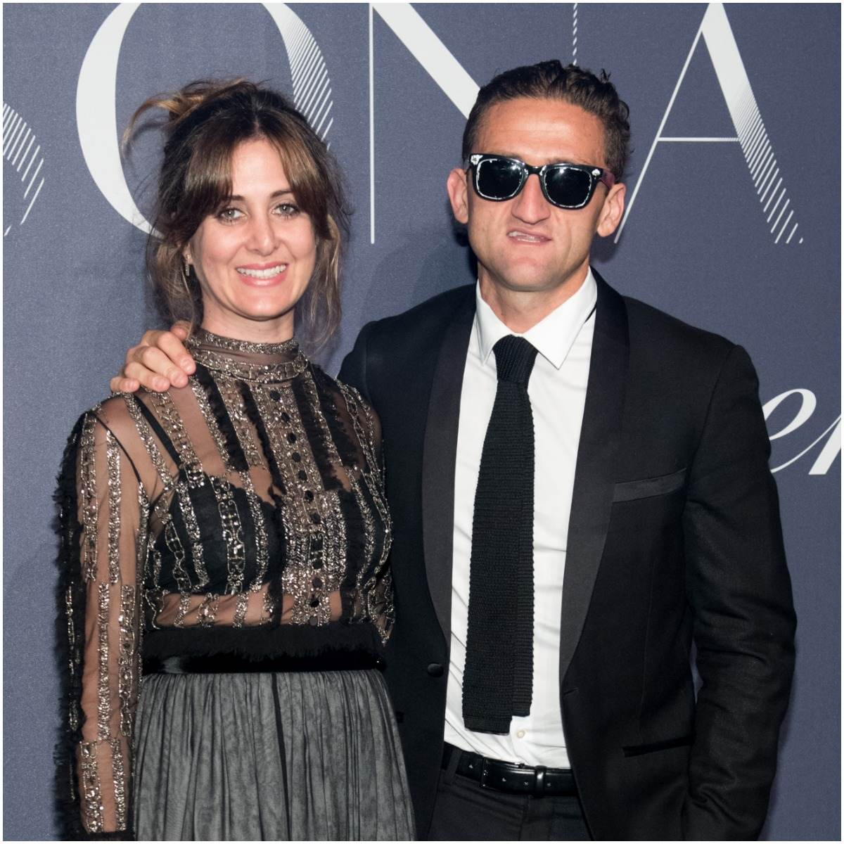 Casey Neistat and his wife Candice Pool