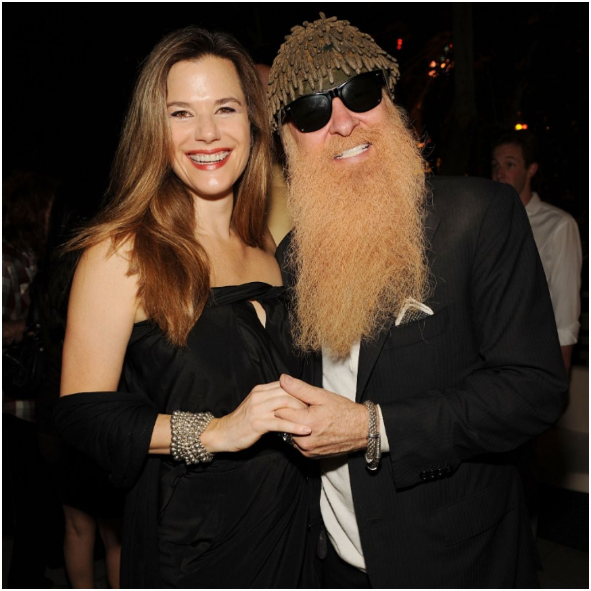 Billy Gibbons and his wife Gilligan Stillwater