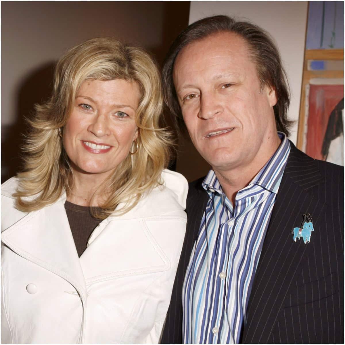 Dana Wheeler-Nicholson and husband Alex Smith