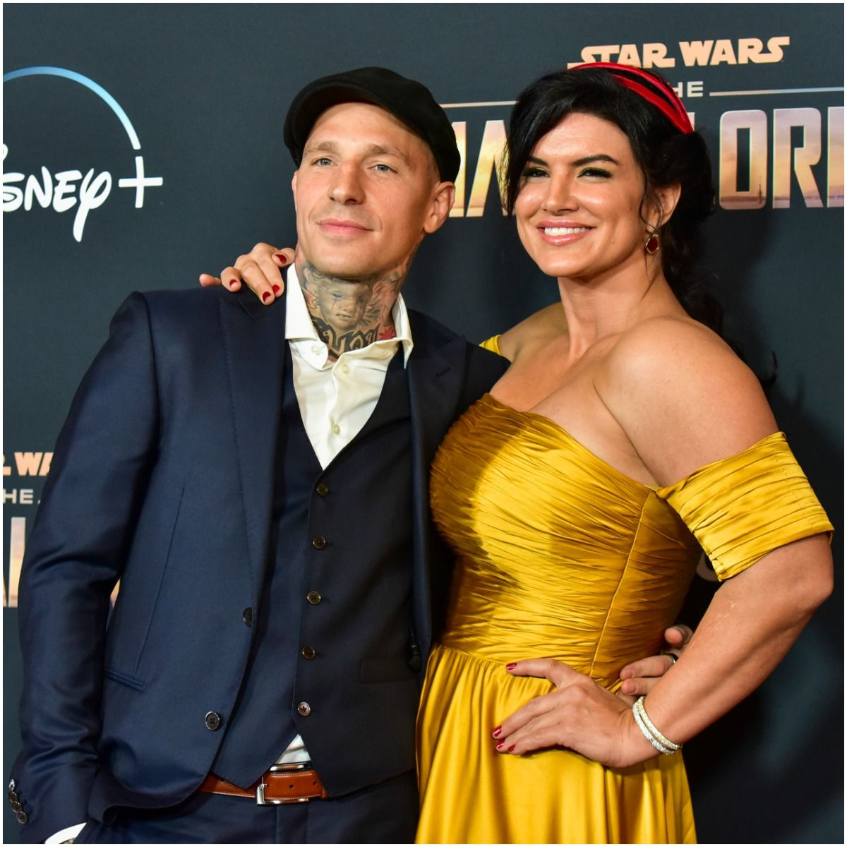 Gina Carano and her boyfriend Kevin Ross