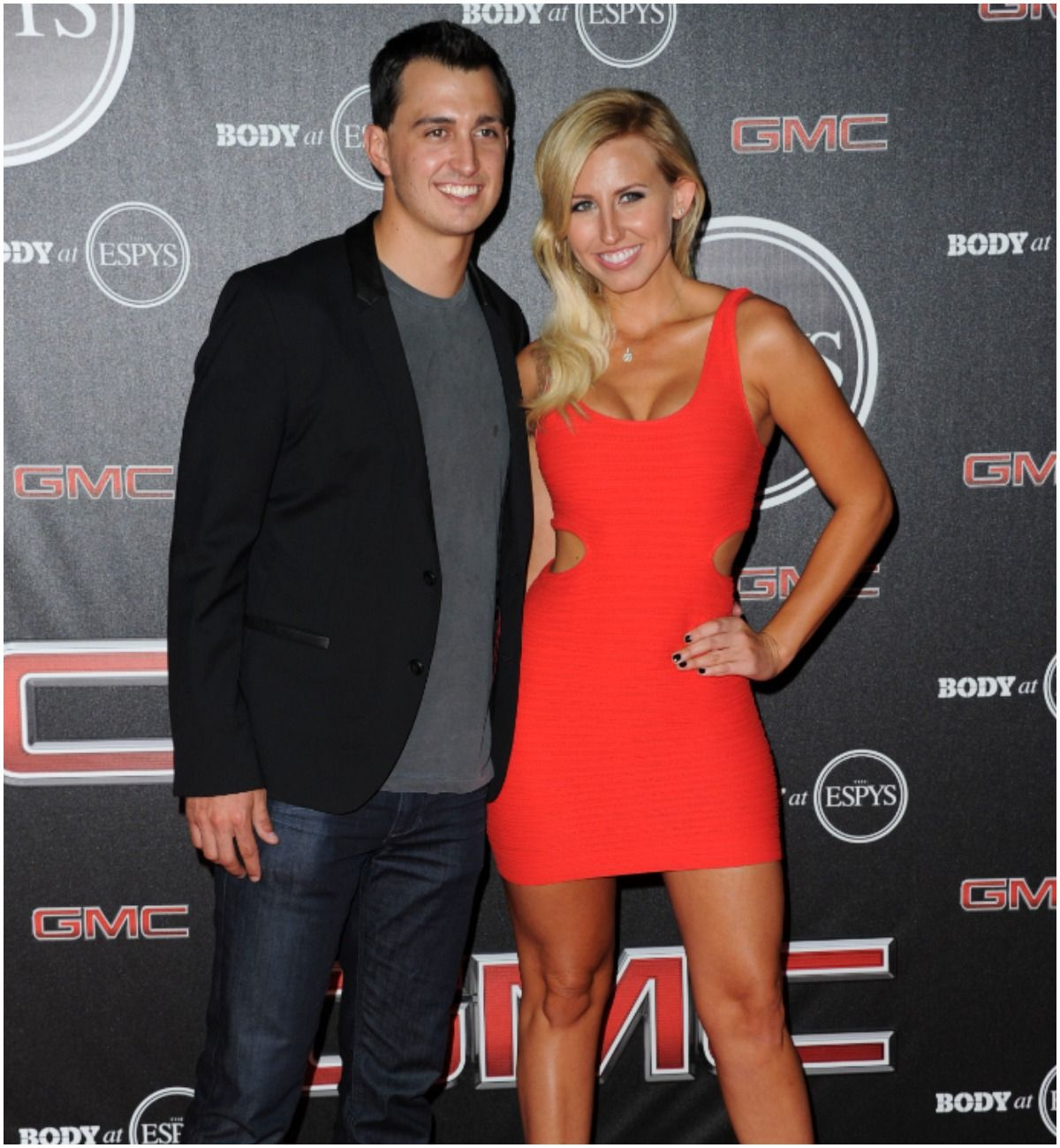 Graham Rahal and his wife Courtney Force