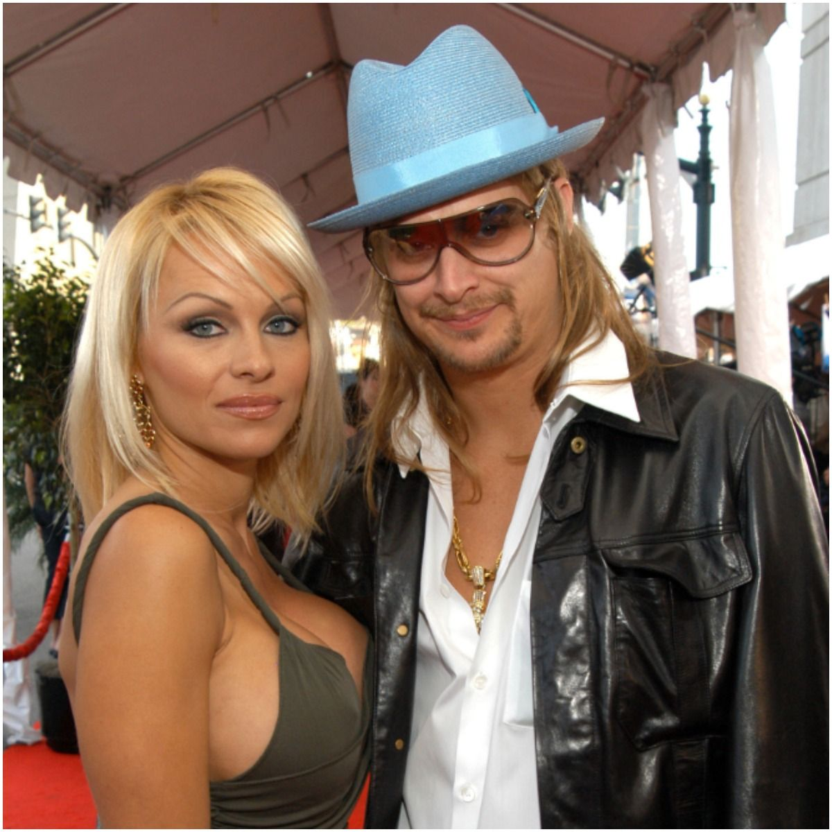 Kid Rock and his wife Pamela Anderson